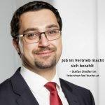 Job im Vertrieb macht sich bezahlt, Stefan Siedler im Kurier.at Beitragsbild-pub 2
