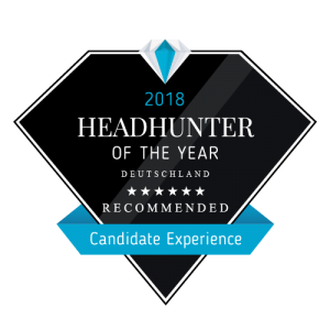 Headhunter of the year Xenaogs Candidate Experience 2018